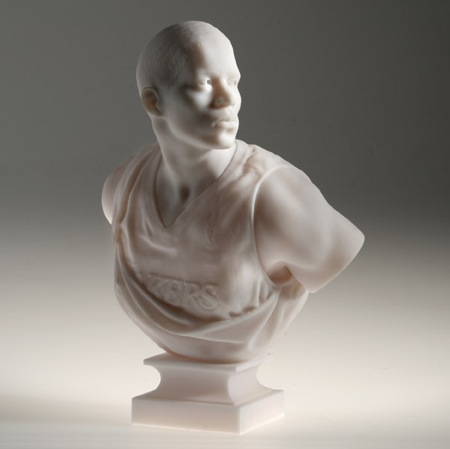 Kehinde Wiley Bust: After La Negresse, 1872