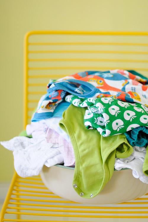 Laundry, laundry, more laundry