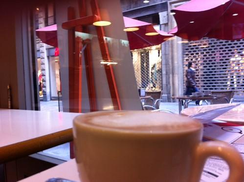 Cafe en el Cafe Brasil de Bilbao by LaVisitaComunicacion