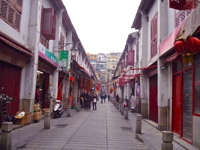 Macau old street