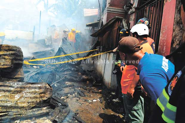 3 People dead, Fire in Poblacion Pardo
