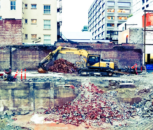 720 Robson Demolition