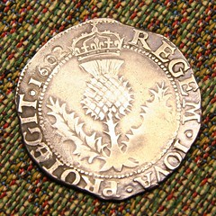 Scottish Thistle Coin 1602 by Tropic~7