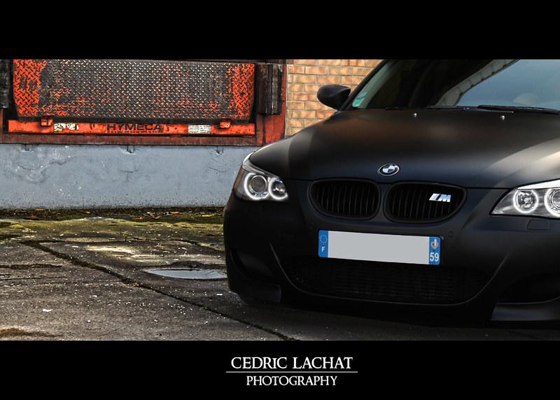 Ma Bmw 535d Pack M5 Noir Mate Bmw Serie 5 E60