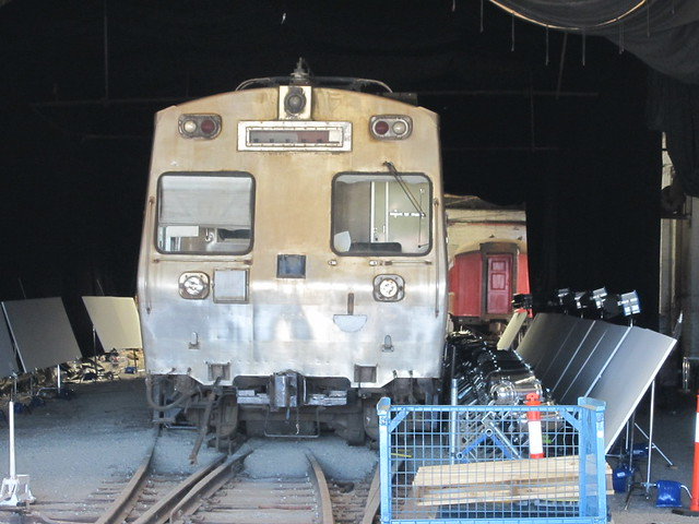 Hitachi train used for filming