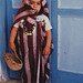 Photograph [97.20.2]: Jews of Djerba. Dress-up Boy, by Keren T. Friedman (Djerba, Tunisia, 1980)