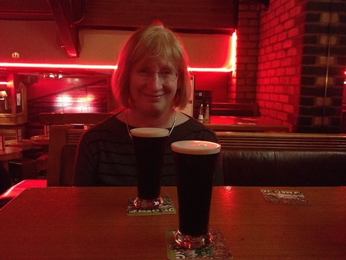 First Guinness of the weekend - Carr & O'Connell