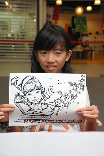 "caricature live sketching for ""Make Your Christmas Shine at Liang Court"" - 10"