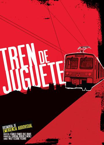 """""""Tren de Juguete"""", de Romulo Franco"""