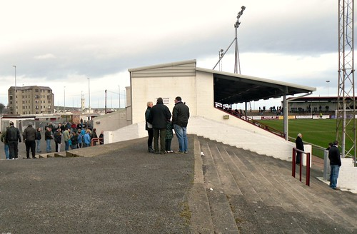 Gayfield, Main Stand from south