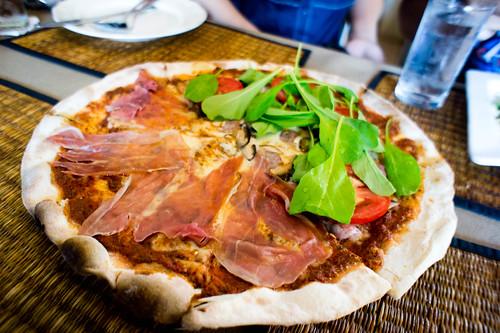 Italian's Parma ham pizza
