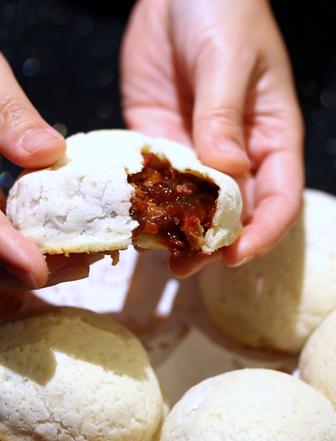Canton Paradise: Baked BBQ Honey Pork Bun