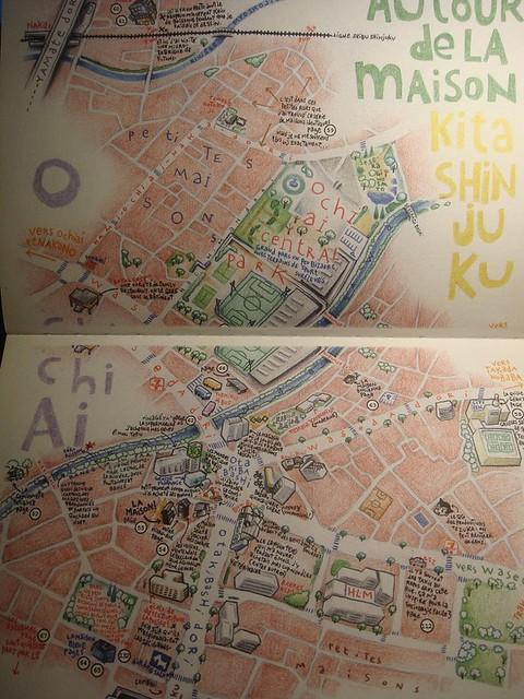 03 非常有耐心的手绘地图