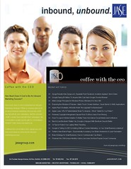 JASE Coffee with the CEO flyer