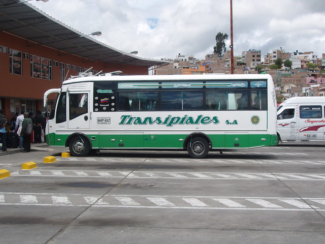 colombia ipiales bus station