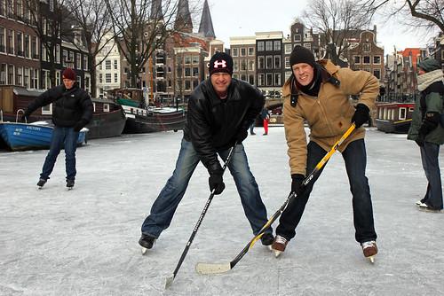 Amsterdam Ice - Jim and Eric