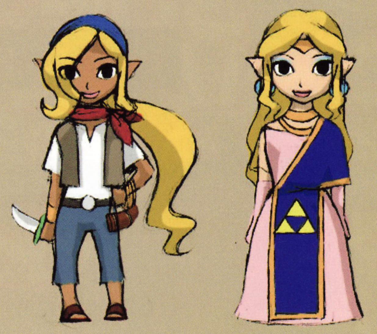 WW Zelda/Tetra