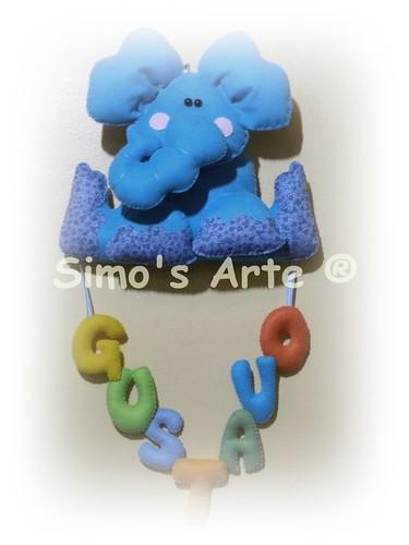 Enfeite de porta by Artes by Simo's®