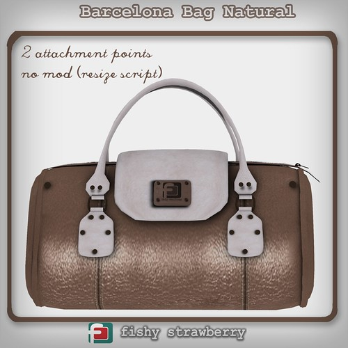 Barcelona Bag - Natural