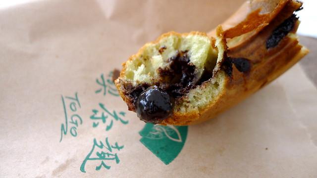 boba inside waffle