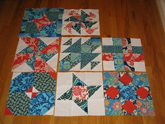 Sew Happy blocks