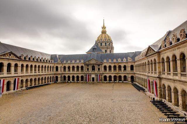 Court of the Invalids, Paris - Les Invalides, Paris