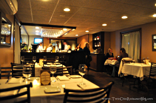 Inside Acqua Restaurant ~ White Bear Lake, MN