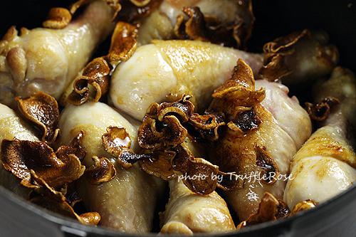 燒酒雞版本的麻油雞-120214