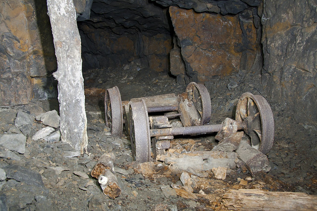Broken Wheels - Cults Limestone Mine