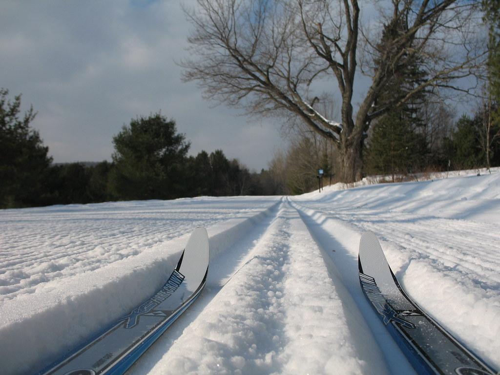 XC ski to Lusk