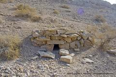 Wadi Bih, Small stone structures 1