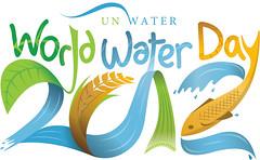 2012世界水資源日主題LOGO,來源:聯合國世界水日