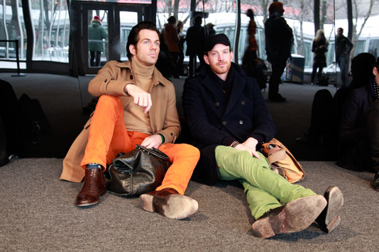 orangegreen_qshots nyfw street fashion style