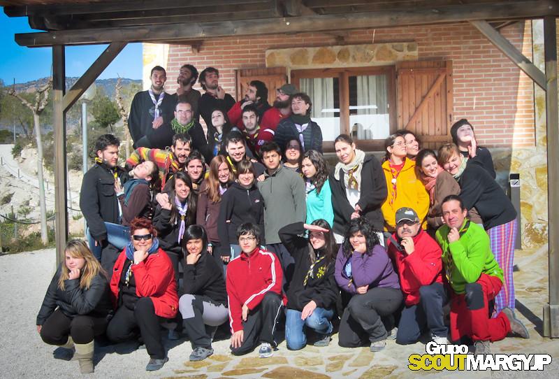 1ª Acampada Monitores MASRM - El Rellano . Murcia