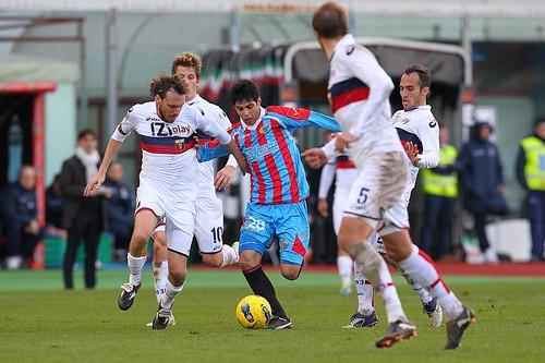 Calcio, Catania-Genoa: presentazione$