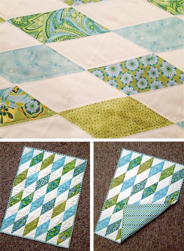 A mini quilt....