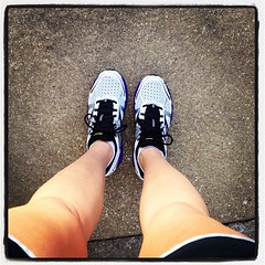 Two totally pain free miles in my brand new @MizunoRunning Wave Inspires! #proof #fitfluential