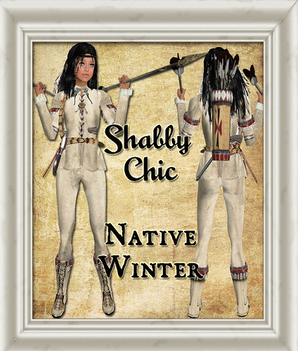 Shabby Chic Native Winter Outfit & Accessories by Shabby Chics
