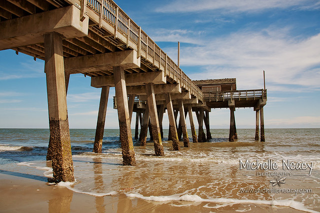 Tybee georgia fishing pier flickr photo sharing for Tybee island fishing pier