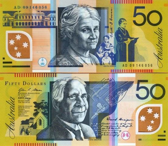 50 Dolárov Austrália 2003-9, polymer Pick 60