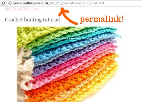 Always use permalinks on Pinterest!