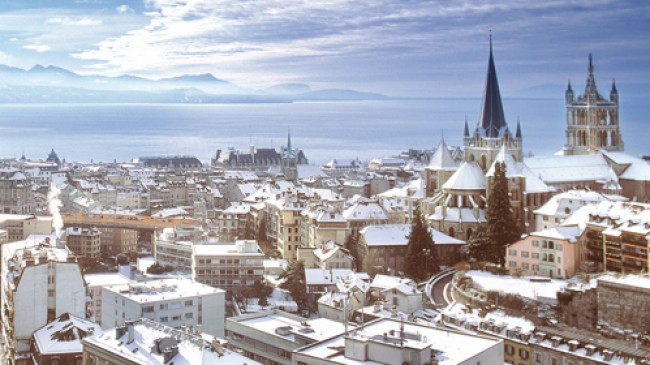 Prázdninové cíle a města ve Švýcarsku