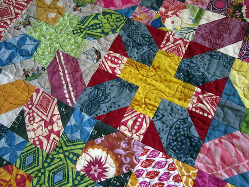 a Quilt full of so much color