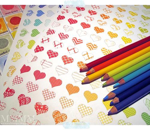 heart paper freebie 2 mel stampz