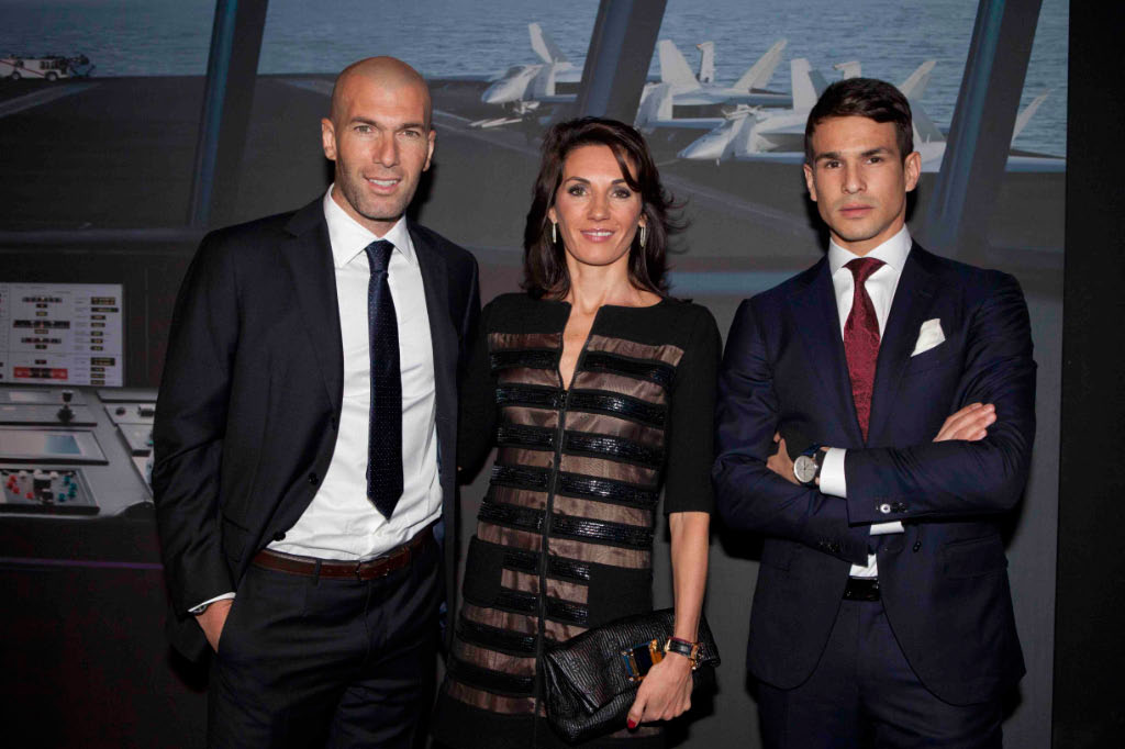 Zinedine Zidane his wife Veronique Fernadez and Jose Maria Manzanares  (2)-1.jpg