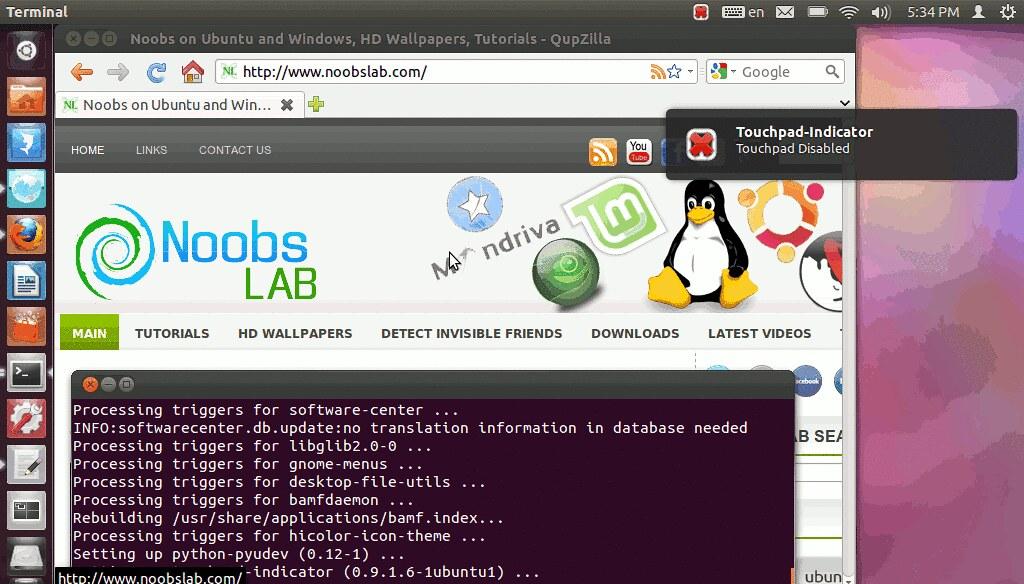 Dell touchpad Driver ubuntu