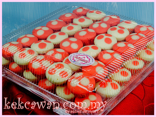 Apam Polkadot - Red & White Theme