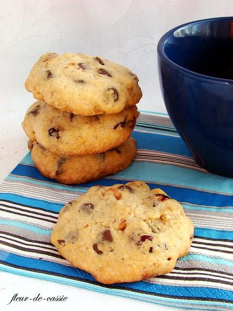 печенье с шоколадными каплями 2