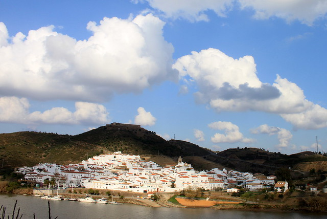 Sanlúcar de Guadiana from Alcoutim