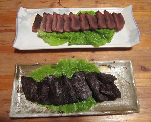 鹿の味噌焼きと鹿のジャーキー 2012年2月18日 by Poran111